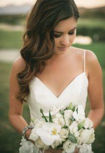 Bridal hairstyles - waves