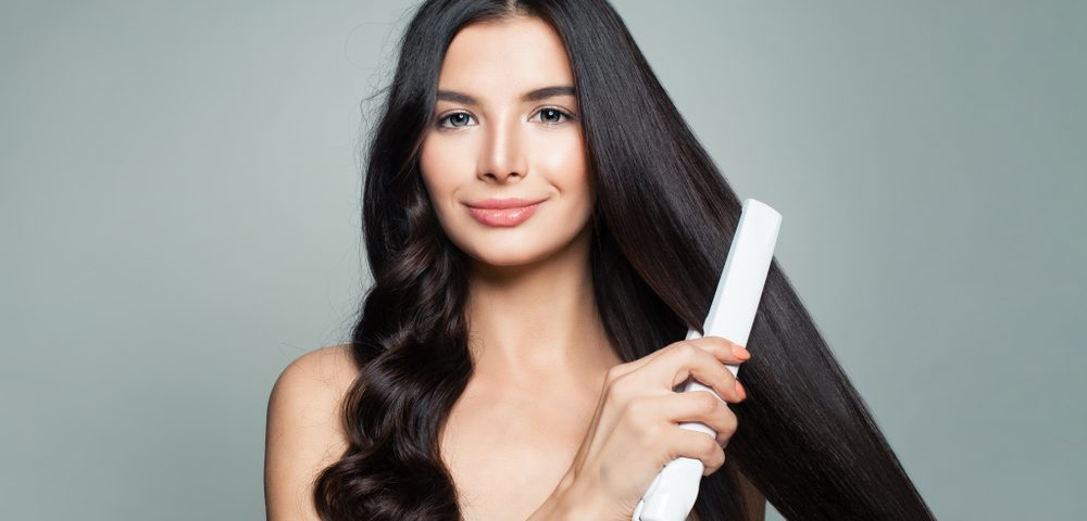 How to achieve perfectly straight hair - Rebecca Oates Bicton